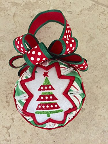 Oh Christmas Tree quilted ornament