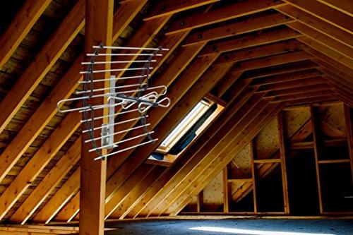 Ge 33692 Attic Mount Hd Antenna Long Range Compact