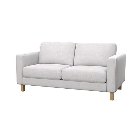 Soferia - IKEA KARLSTAD Funda para sofá de 2 plazas, Naturel ...