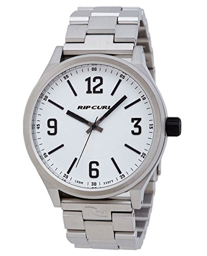 Rip Curl Flyer II SSS Men's Analog Link Watch White Dial A2835-whi by Rip Curl