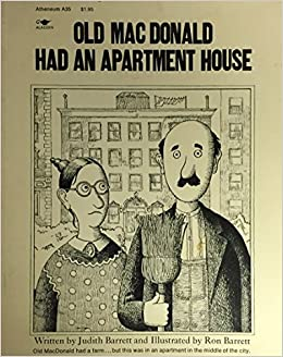Old Macdonald Had An Apartment House Judith Barrett Ron 9780689704017 Amazon Books