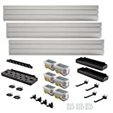 Rubbermaid FastTrack Garage Wall Panel Starter Kit (23-Piece)