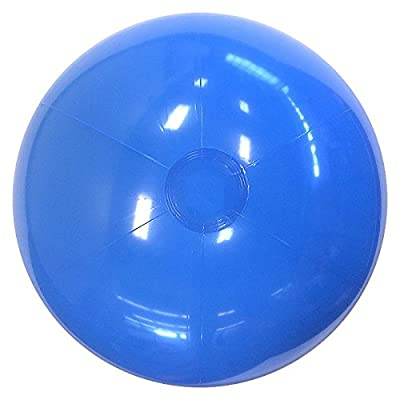 Beachballs - 16'' Solid Light Blue Beach Ball: Sports & Outdoors