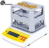 CGOLDENWALL AU-300K Digital Electronic Gold Purity TesterGold Carat TesterGold Purity Testing Machine Archimedes Gold Tester Gold Purity Weighing Scale PortablePrecious Metal Tester