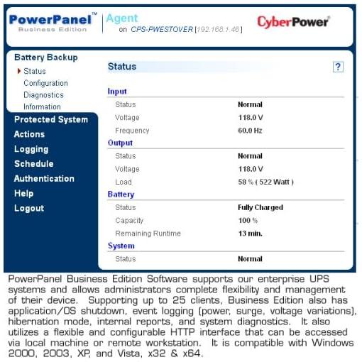 CyberPower Rackmount