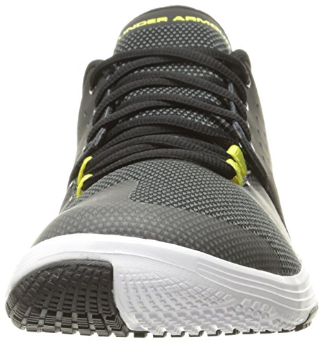 Under Armour Men's Ua Limitless Tr 3.0 Fitness Shoes, Black Black/White