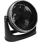 Nine Inch Ultra Turbo Velocity Fan Tilts 90-degree Stylish Chrome Accents