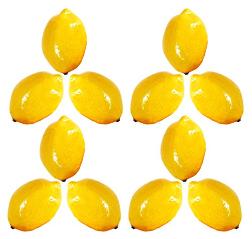 Crystal Berry Bowl (Artificial Lemons for Decoration - Set of 12)