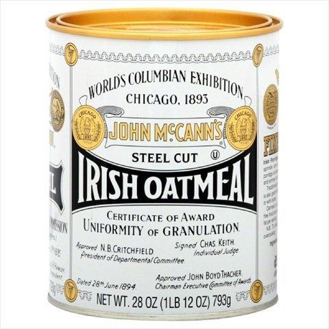 McCann's Irish Steel Cut Oatmeal 28 Ounces