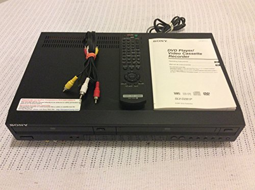 Sony DVD/VCR Progressive Scan Combo Player SLV-D281P ()
