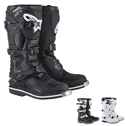 Alpinestars Tech 1 Men's Off-Road Motorcycle Boots - Black / 8