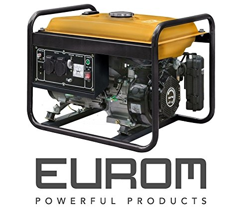 Stromgenerator Eurom GE2501 Stromerzeuger Stromeggregat Generator Neu