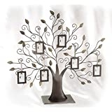 Family Tree w/6 Hanging Picture Frames - Family Tree w/6 Hanging Frames - Pic...