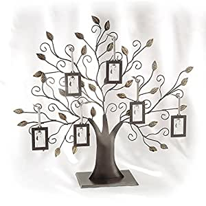 Family Tree w/6 Hanging Frames - Picture Frame