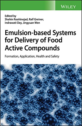 Active Compounds - Emulsion-based Systems for Delivery of Food Active Compounds: Formation, Application, Health and Safety