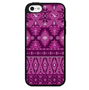 Pink Aztec Pattern Hard Snap on Phone Case (iPhone 5c)