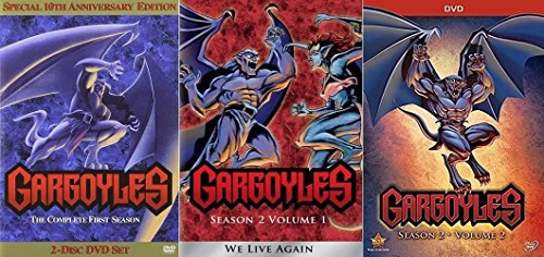 Gargoyles: Season 1 & 2: Volumes 1 & 2 Complete Series [DVD Disney Box Set] (Tv Dvd Series Complete Batman)