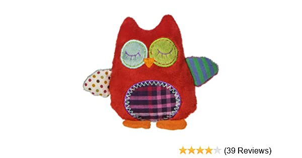 Mary Meyer Natural Life Whooo Loves You Owl Baby Activity Toy