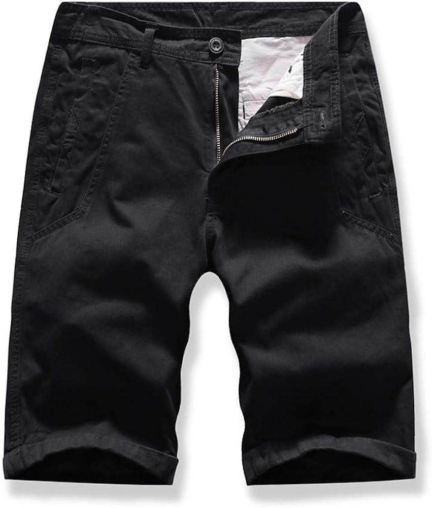 Miicoopie Mens Camo Cargo Shorts Relaxed Fit Multi-Pocket Outdoor Cargo Shorts