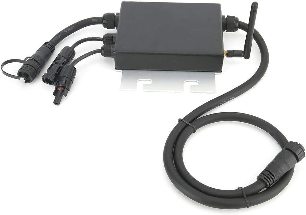 120V Solar Wechselrichter,SG350MS Solar Inverter Solar Wechselrichter LED Anzeige Micro Grid Tied IP65 wasserdicht 350W mit Empf/änger,Solar Wechselrichter mit Netzanschluss,Solarwechselrichter