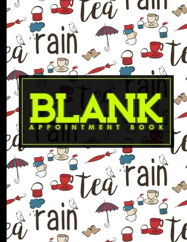 Blank Appointment Book: 6 Columns Appointment Calendar