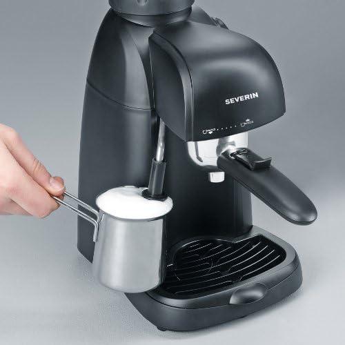 Severin Cafetera Espresso 800 W 4 tazas de café. Presión de 3,5 bares 220 ml: Amazon.es: Hogar