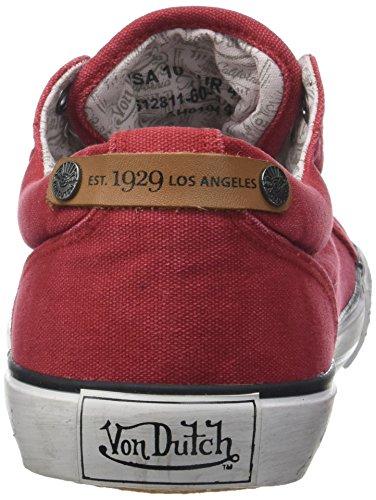 Von Origindutch Bordeaux Zapatillas para 18 Hombre Rouge Rouge Dutch FZPqFwA