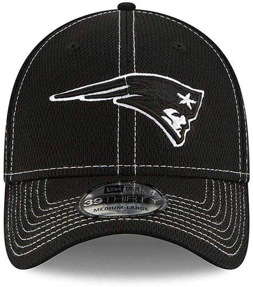 New Era NFL19 SL RD 39Thirty Cap New England Patriots Schwarz