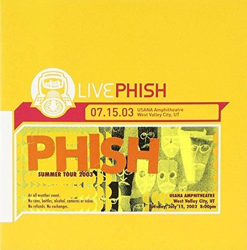 Price comparison product image Live Usana Amphitheatre by Phish (2004-02-24)