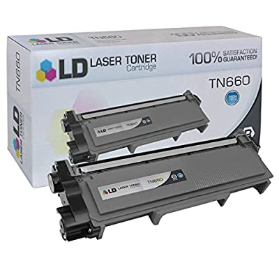LD Compatible Brother TN660 HY Black Toner Cartridge for Brother DCP L2520DW, L2540DW, HL L2300D, L2320D, L2340DW