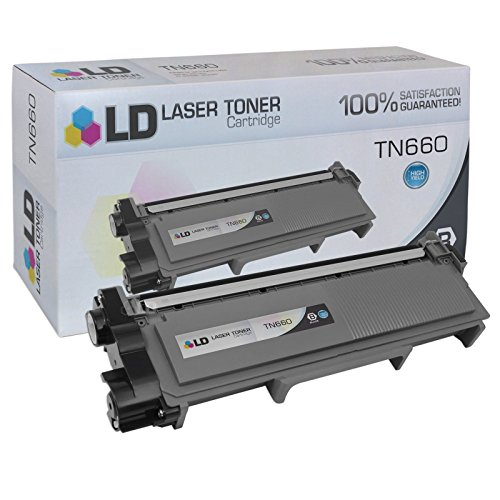 LD Products Compatible Toner Cartridge Replacement for Brother TN660 ( Black , 1-Pack ) by LD Products