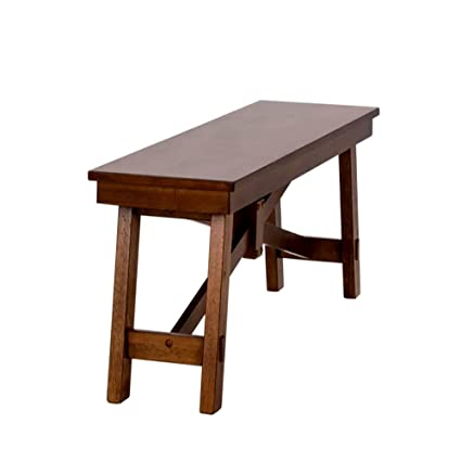 Remarkable Amazon Com Plain Wooden Bench For Dining Table And Patio Uwap Interior Chair Design Uwaporg