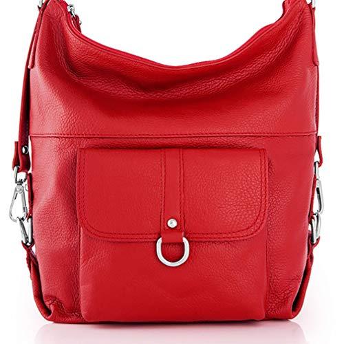 Misure para rojo de mujer Cuero hombro Marant Bolso cm 30x16x34 Rojo in al qa8SwnXz
