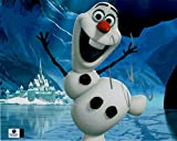 Josh Gad Hand Signed Autographed 8x10 Photo Frozen olaf Big Smile GV 848241