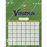 Turner Perfect Timing Minnesota Vikings Jumbo Dry Erase Sports Calendar (8921014)