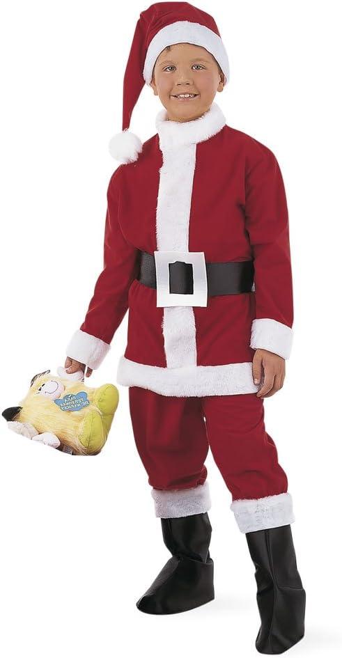 Limit Sport - Disfraz de Papá Noel para niño (MI170): Amazon.es ...