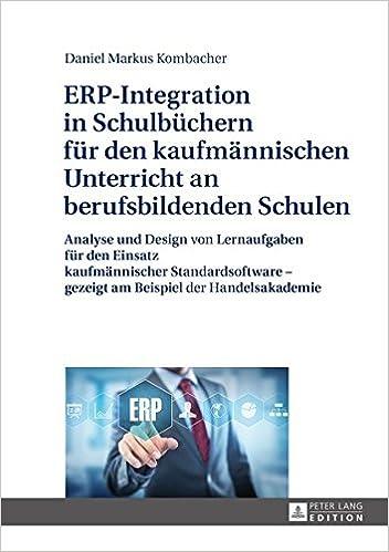 ERP-Integration in Schulbüchern für den kaufmännischen Unterricht an ...