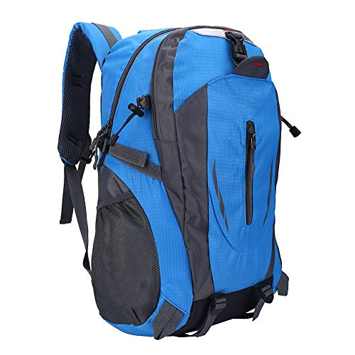 Zerone Travel Hiking Backpack, 6 Colors 40L Waterproof Backpack Shoulder Bag for Outdoor Sports Climbing Camping Hiking