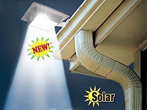 Dengzhu 4 luci a led a energia solare per esterni tetto