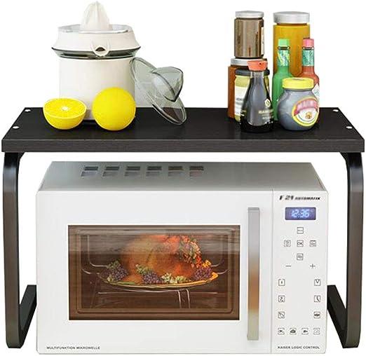 Estante de cocina Soporte para Horno de microondas Estante de ...