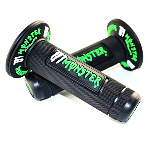 Universal Hand Grips Motorcycle Handle Bar Monster For Dirt Bike/Pit Bike Used For Motocross Handle Grips 7/8 - Green