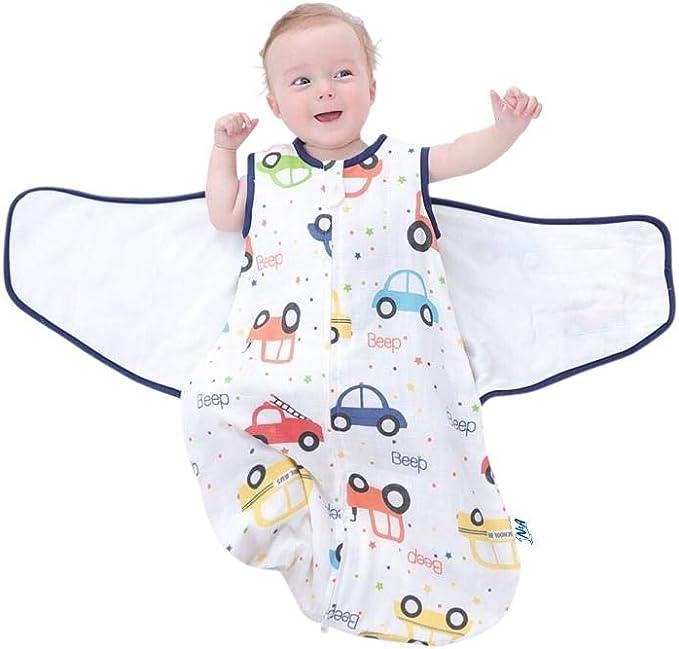 Minky Baby Swaddle Wrap Sac de couchage couverture nouveau-né infantile Coton made in EU