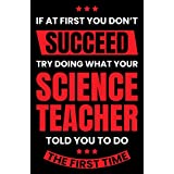 Damdekoli Science Teacher Poster, 11x17 Inches, Scientist Wall Art Print, Chemistry, Physics, Technology, Education Decor School
