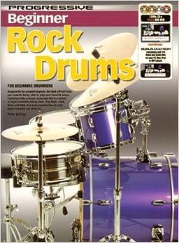 Book 11807 - Progressive Beginner Rock Drums - Book/CD/DVD by Peter Gelling (2012-01-01)