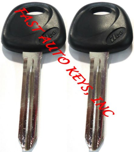 2-new-replacement-non-transponder-uncut-blade-key-blank-fit-kia-made-in-usa