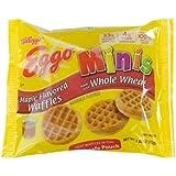 Eggo Minis Maple Flavored Waffle, 2.64 Ounce - 72 per case.