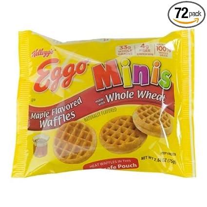 Eggo Minis - Gofre de arce con sabor a arce, 72,64 onzas ...