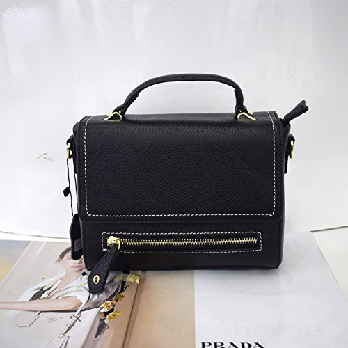 De Gules Portátil Mini Simple Bolso Bolsa Hombro GUANGMING77 Mini black Messenger UBqW0Ezw0x