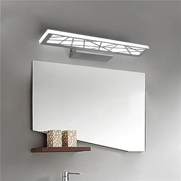 Zhas Einfache Led Spiegelschrank Hellen Badezimmer Spiegel Make Up
