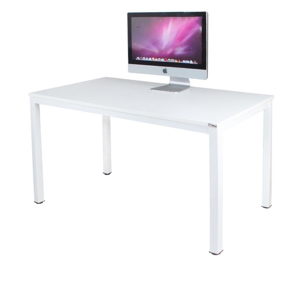 "Need Computer Desk 47"" Computer Table with BIFMA Certification Writing Desk Workstation Office Desk, White AC3DW-120"